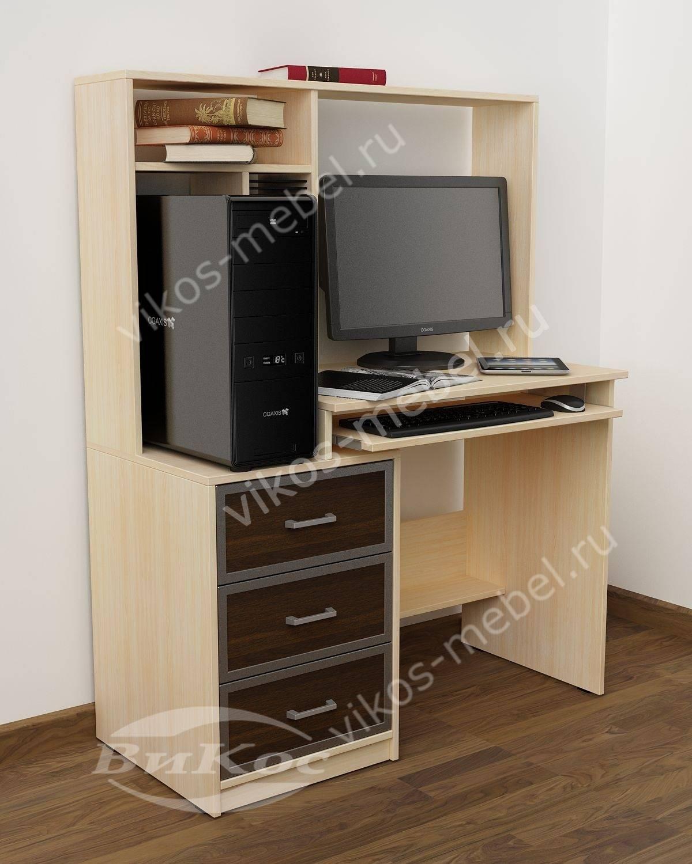 маленькие компьютерные столы эконом класса