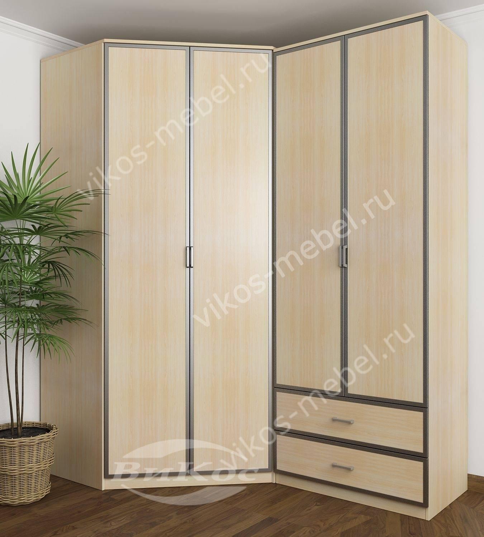 Недорогие четырехстворчатые шкафы для одежды економ класса.