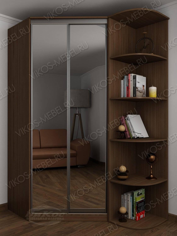 Стильные, красивые шкафы купе цвет ясень шимо темный.