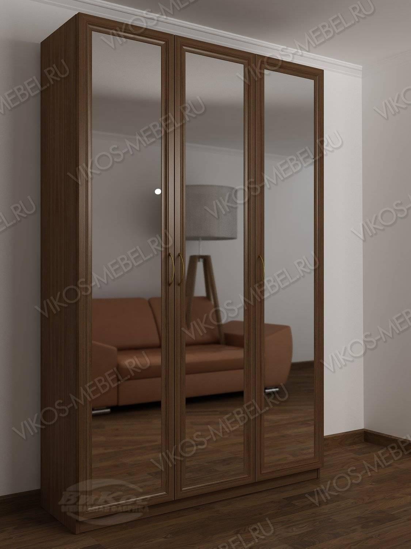 3-створчатый шкаф в прихожую цвета ясень шимо темный - цена .