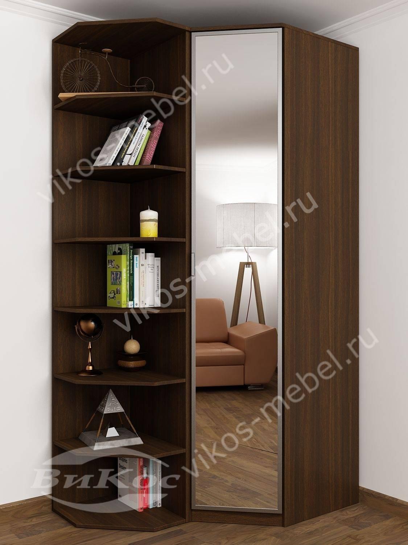 Стильные, красивые маленькие угловые шкафы.