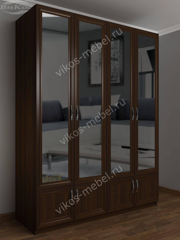 Шкаф с ящиками и зеркалом шкра(iv)4 / санкт-петербург.