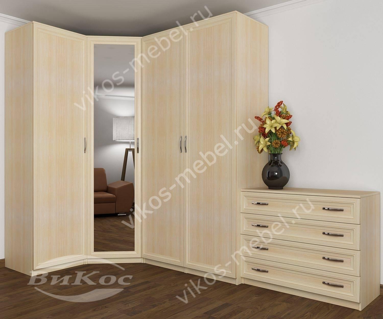 спальни с угловым шкафом цены и фото