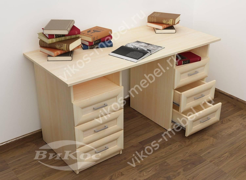 Письменные столы двухтумбовые фото топ-10.