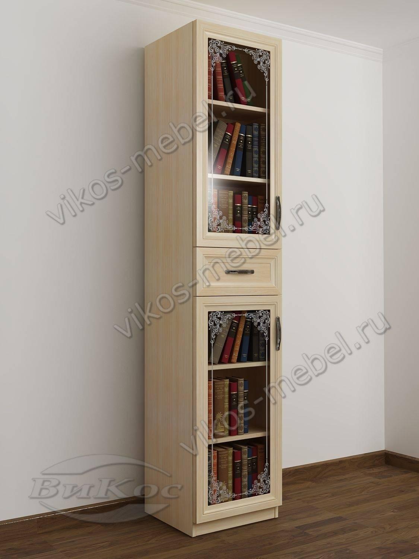 Недорогие одностворчатые книжные шкафы економ класса.
