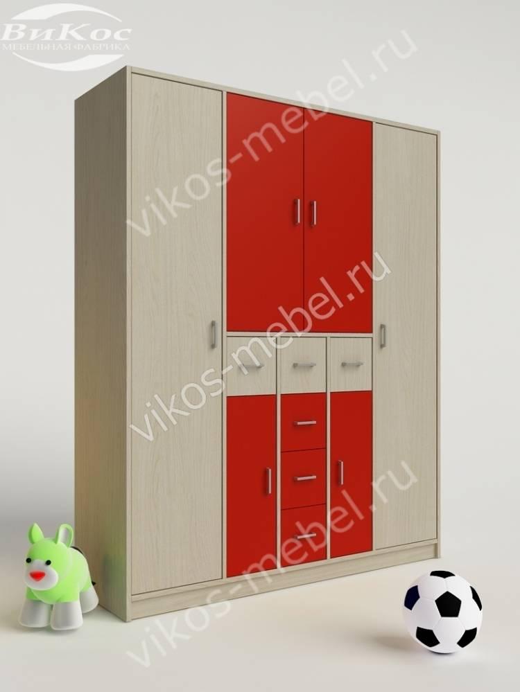 Детские шкафы цвет красный фото топ-10.