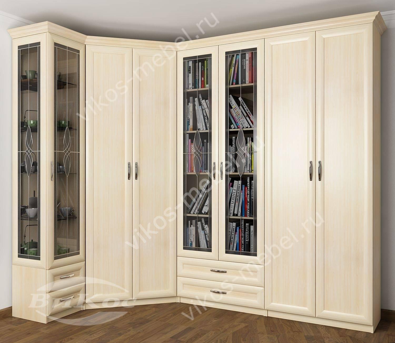 Книжные шкафы со стеклом фото топ-20.