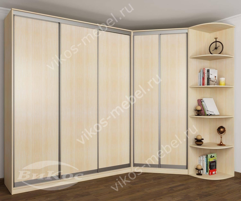 Недорогие угловые шкафы для одежды економ класса.