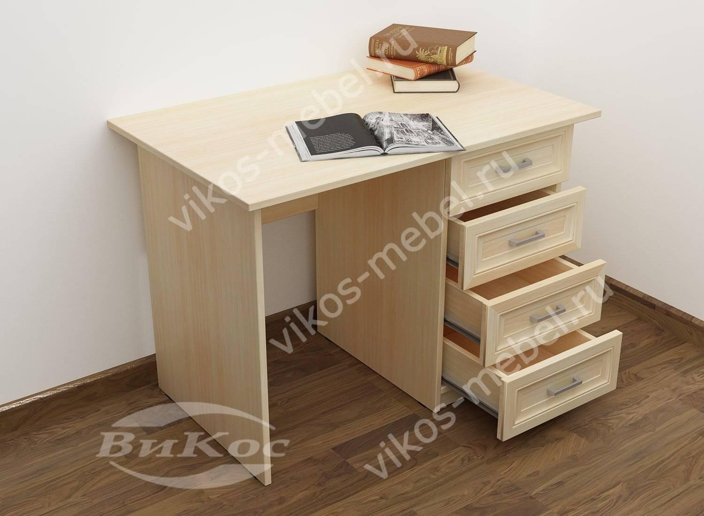 Стол традиционный письменный с ящиками - цена в москве 7650 .
