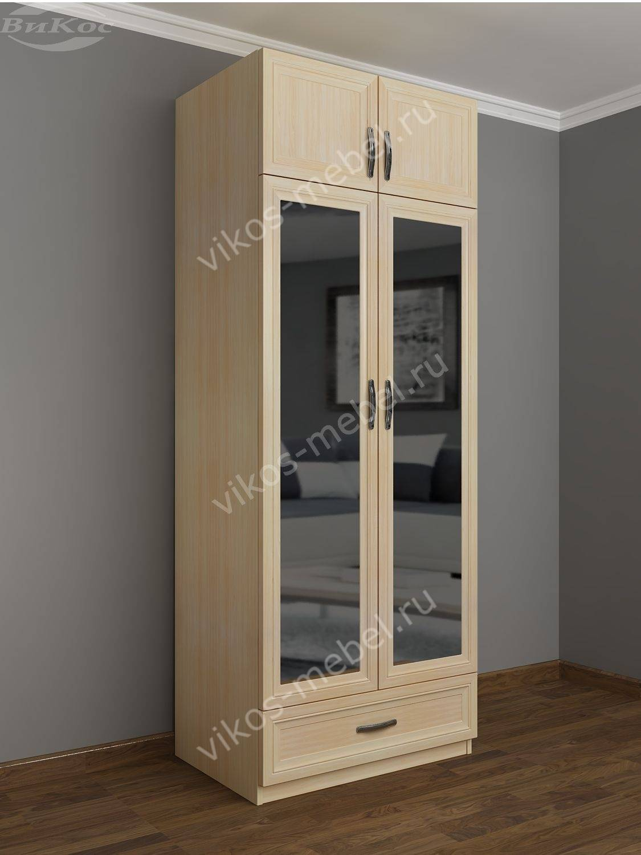 Распашной шкаф с зеркалом шкра(ii)7 / санкт-петербург.