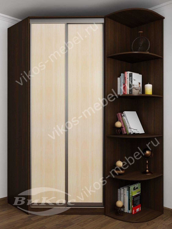 Стильные, красивые шкафы купе цвет венге - молочный дуб.