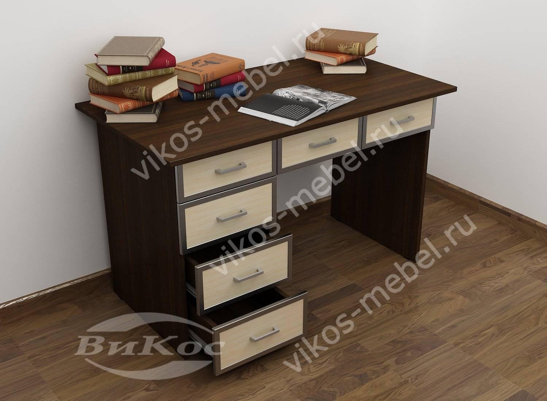 Недорогие письменные столы однотумбовые економ класса.