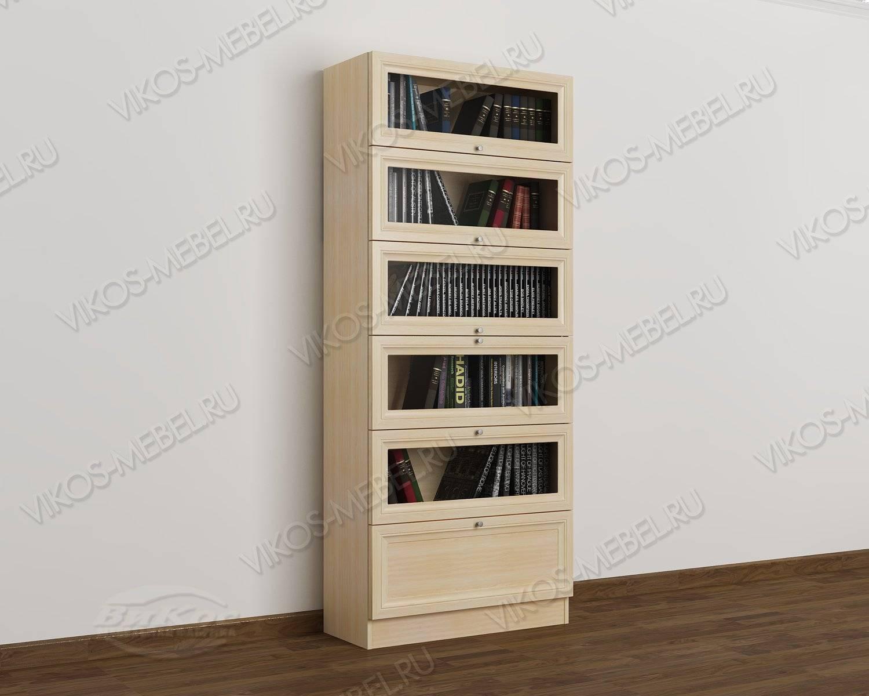 1-створчатый книжный шкаф библиотека цвета молочный беленый .