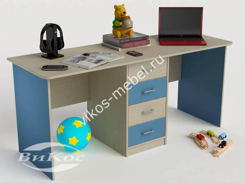 Стильные, красивые детские письменные столы для мальчика.