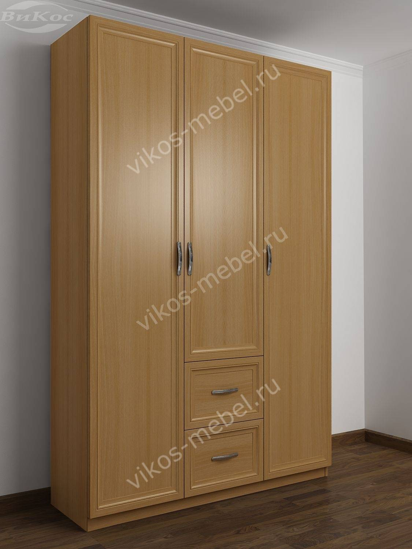 Шкаф четырехстворчатый для одежды