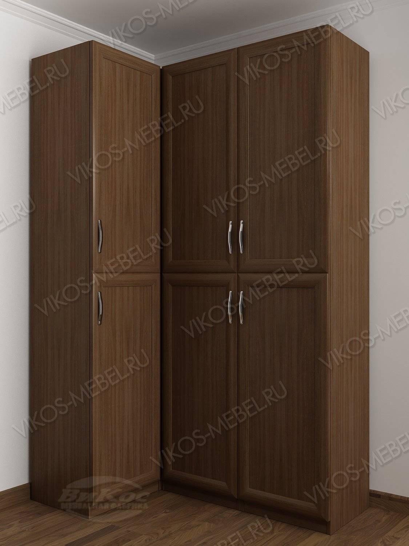 3-дверный угловой шкаф с распашными дверями для спальни цвет.