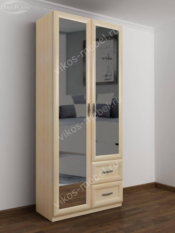 шкаф двухстворчатый фото