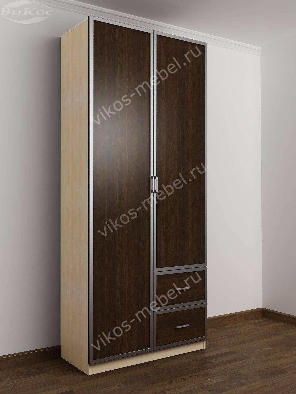 Шкаф 2-х дверный для одежды в спальню - цена в москве 12060 .