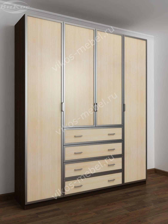 Шкафы распашные в спальню - главная идея.