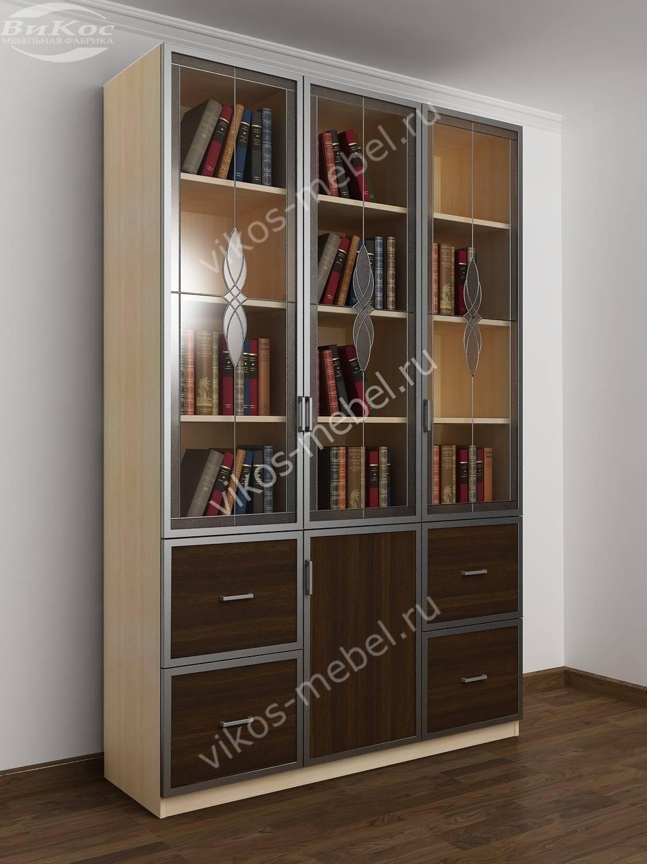 Современные книжные шкафы