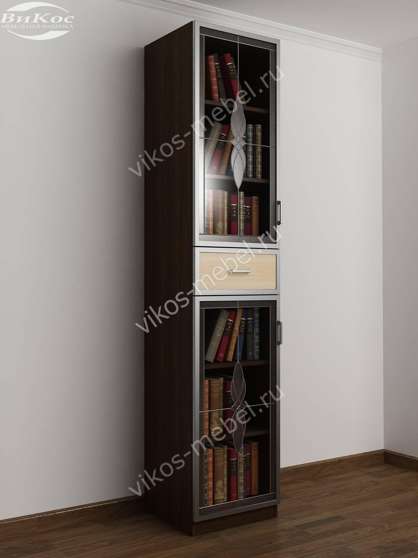 Одностворчатые книжные шкафы фото топ-10.