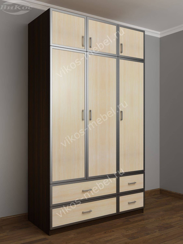 Шкаф с антресолями и штангой шкра(iii)4 / санкт-петербург.