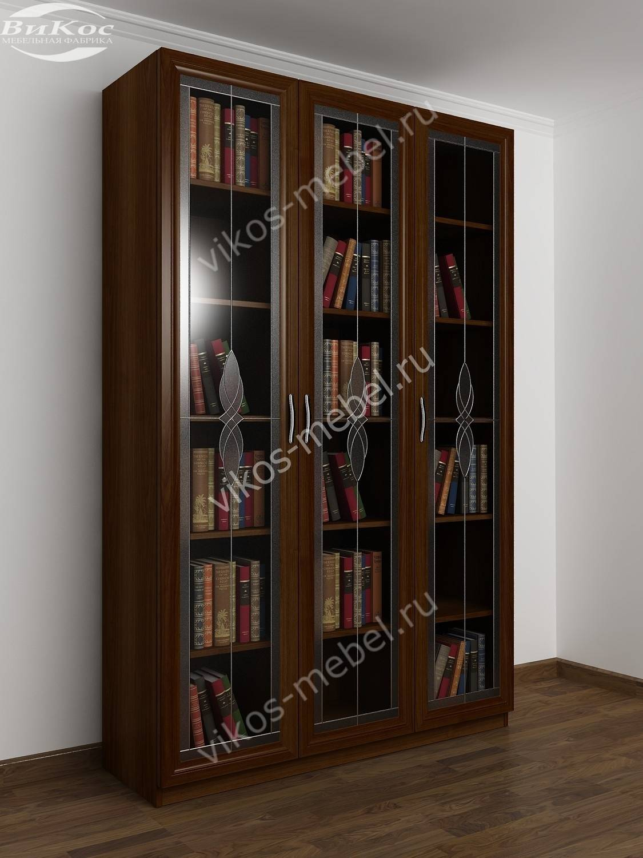 Книжный шкаф со стеклянными дверцами в спб.