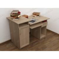 Прямой стол под кампьютер со шкафчиком с тумбой