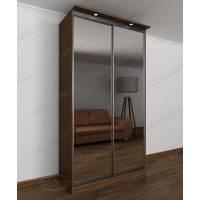 Шкаф купе для спальни в кабинет с подсветкой