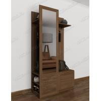 Современная заркельная мебель в прихожую цвета ясень шимо темный
