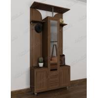 Заркельная мебель в прихожую в современном стиле ясень шимо темный