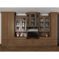 """Мебельная стенка """"Наталия-2"""" для гостиной в классическом стиле"""