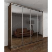 Современная зеркальный шкаф купе для спальни