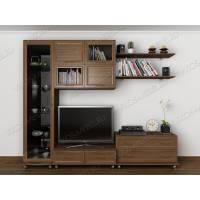 """Мебельная стенка """"Эллада-5"""" для гостиной цвета ясень шимо темный"""