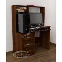 Оригинальный компьютерный стол с надстройками