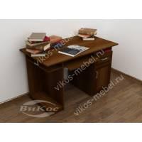 Письменно-компьютерный стол с полкой
