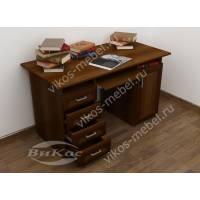 Оригинальный письменно-компьютерный стол с ящиками
