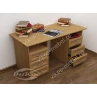 Стол письменный для дома с ящиками