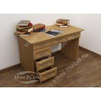 Вместительный письменный стол с ящиками