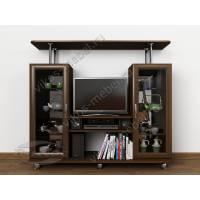 Мини-стенка под ТВ «ТВ-2» с двумя сервантами венге