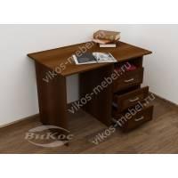 Стол традиционный письменный с 3 выдвижными ящиками