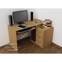 Оригинальный компьютерный стол с тумбой