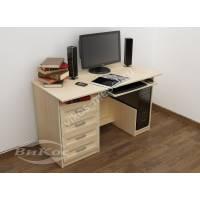 Современный компьютерный стол с ящиками