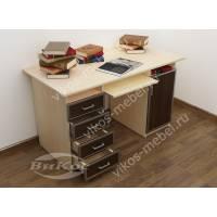 Современный письменно-компьютерный стол для офиса
