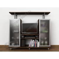 Современная тумба под телевизор «ТВ-2» в гостиную венге