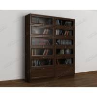 Шкаф для книг венге
