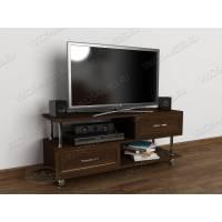 Тумбочка под телевизор в классическом стиле цвета венге