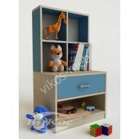 Детская тумбочка для игрушек и книг