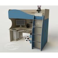 """Детская мебель """"Гном"""" с угловым компьютерным столом"""