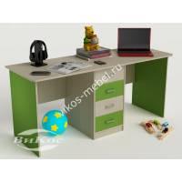 Письменный стол для мальчиков цвет зеленый